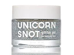 Unicorn Snot Glitter Gel for Body and Face - Silver 1.7oz 5g