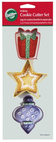 Wilton Holiday Cookie Cutter 3 Piece Set