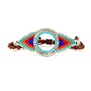Chan Luu Multi Mix Seed Bead Bracelet on Cotton