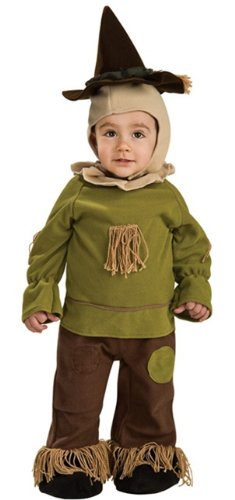 Wizard of Oz - Scarecrow Easy On Infant Romper Costume