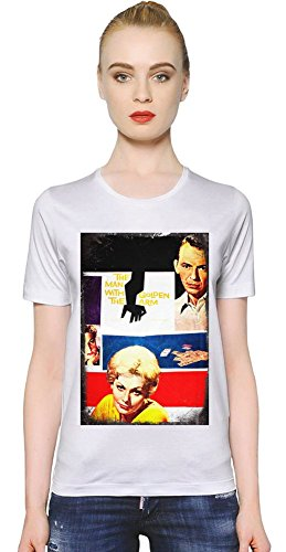 The Man With The Golden Arm Frankie Machine T-shirt donna Women T-Shirt Girl Ladies Stylish Fashion Fit Custom Apparel By Slick Stuff XX-Large