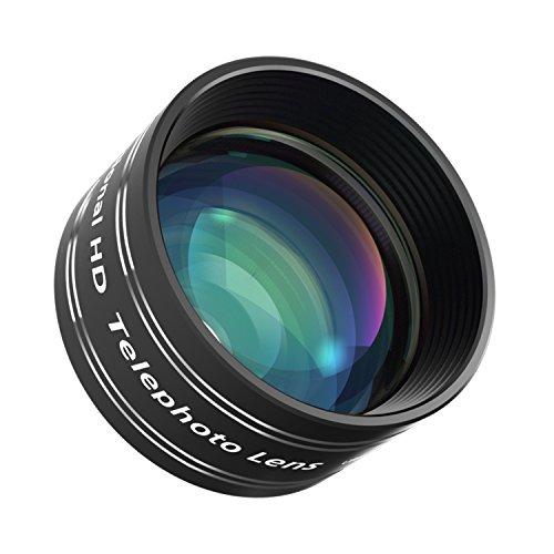 Mozeat スマホ 望遠レンズ カメラレンズ 2倍望遠 iPhone スマホ タブレット対応