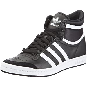 ADIDAS SNEAKER DAMEN: Adidas Top Ten Hi Sleek Leather Schuh ...