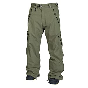 686 Smarty Original Cargo Mens Snowboard Pants Large Army Texture by 686