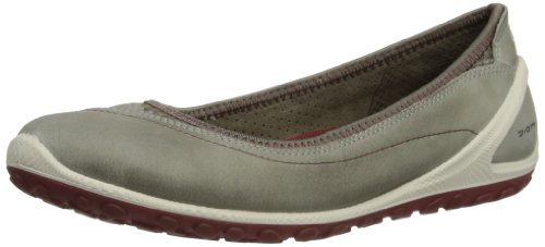 ECCO Womens Biom Lite Ballerina Low-Top Trainers 80217354190 Warm Grey/Warm Grey 5 UK, 38 EU