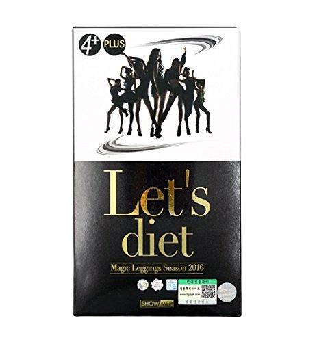 Showmee Let's Diet Magic Legging Season 2016 [Black] – Korea Imported