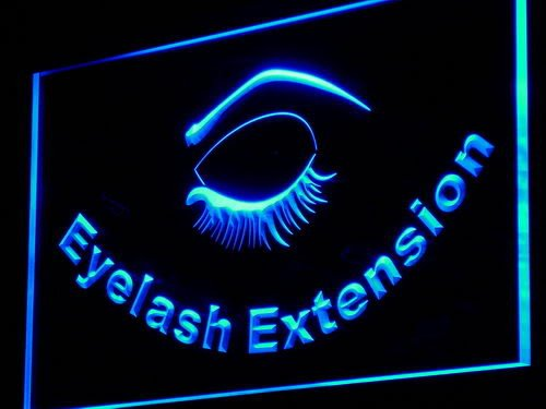 eyelashes extensions ADV PRO i958-b Eyelash Extension Beauty Salon Neon Light Sign