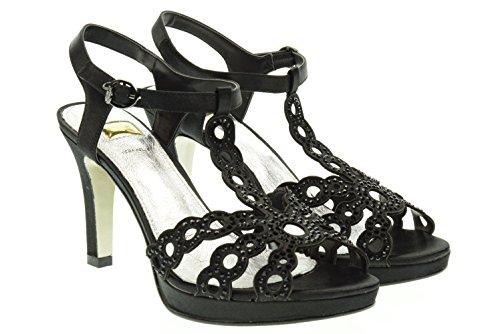 O6 MILANO donna sandali SA0341 NERO 36 Nero