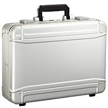 Zero Halliburton Geo Aluminum Large Laptop Case, Silver, One Size