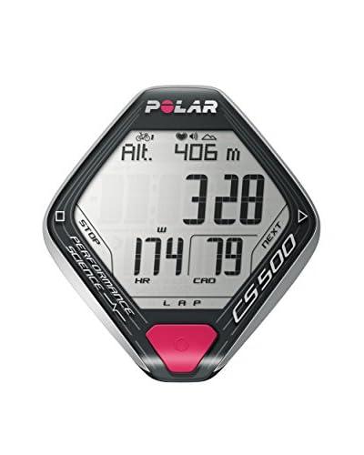 Polar Consola Bicicleta CS500 + Cad (Incluye H3 + Vel. Y Cadencia W.I.N.D. + Soporte Dual Lock) Gris Oscuro