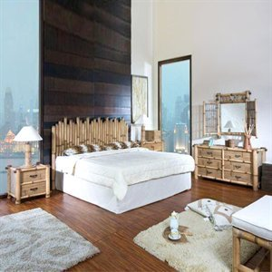 Wicker Dresser Furniture front-1067535
