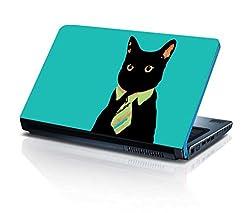 alterEgo Vinyl Laptop Skin- 15.6 IN, Grunge Cat