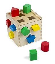 Melissa & Doug Shape Sorting Cube