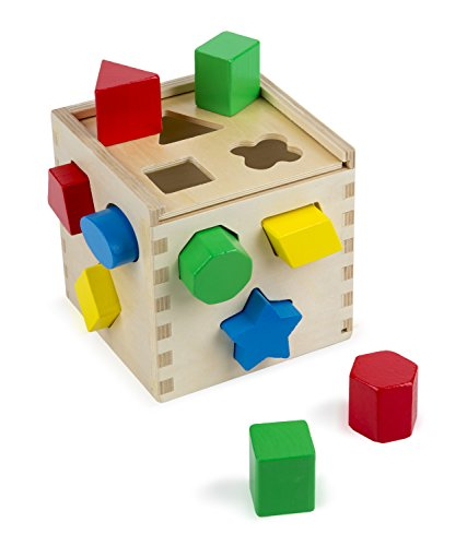 melissa-doug-shape-sorting-cube-classic-wooden-toy-with-12-shapes