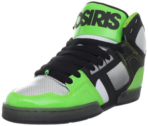 Osiris Men's Nyc83 Multicolored Trainer 1130-1557 11 UK, 12 US BLACK/TEAL/RED