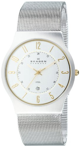 Skagen Gents Slimline Mesh Watch - 233XLSGS