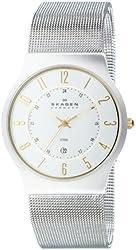 Skagen Men's 233XLSGS Slimline Mesh Watch