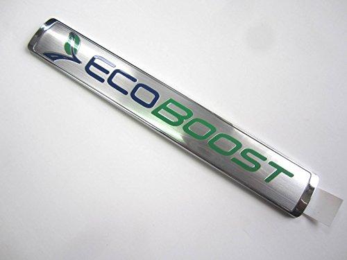 OEM Ford F-150 EcoBoost Logo Chrome Door Fender Emblem Decal Badge Ornament (Ford F150 Fender Emblem compare prices)