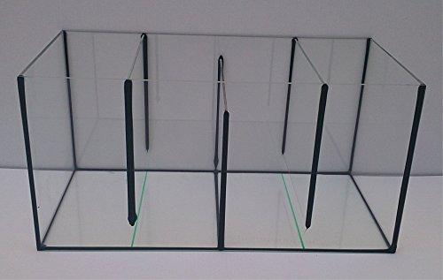 Aquarium-Filterbecken-Mehrkammerfilter-60x30x30-cm-4-Kammern