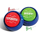 Right & Wrong Answer Buzzers (set of 2)