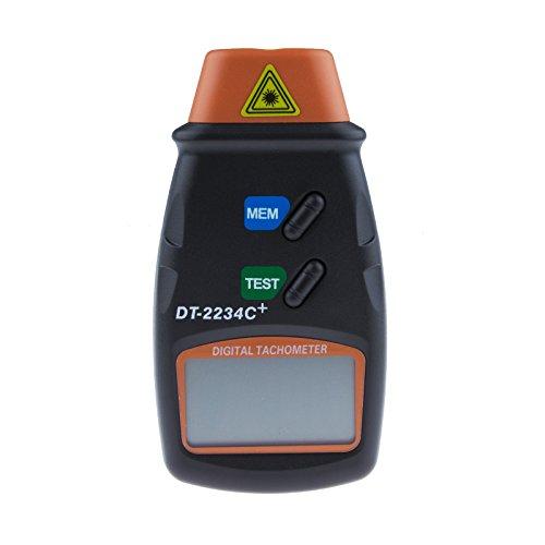 Sunsbell®Dt2234C+ Non-Contact Laser Photo Tachometer Handheld Digital Rpm Meter Tool