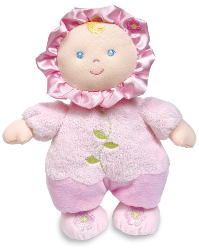 Asthma and Allergy Friendly Flower Rattle Doll by Kids Preferred - 1