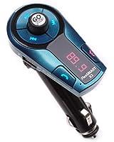 GOgroove FlexSMART X2 Mini Transmetteur FM Bluetooth Mains-libres Sans Fil Voiture , charge USB et contrôle de musique intégré pour Smartphones Apple iPhone 6, 6+, 5C / Samsung Galaxy S6, S6 Edge, S5, Core Lite, Grand Prime / HTC Desire 820, 620 / Wiko / Microsoft / Nokia ... Tablettes, et tout autre appareil équipé du système Bluetooth