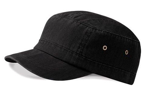 Beechfield Urban Army Cap in Vintage black