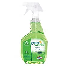 Green Works 00456 Commercial Solutions All Purpose Cleaner Spray, 32 fl oz Bottle