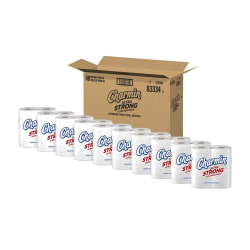 Charmin Ultra Strong Toilet Paper, Double Rolls, 40 Count