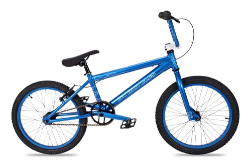Dk Sentry Bmx Bike With Blue Rims (Blue, 20-Inch)