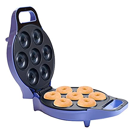 Make fresh, delicious donuts right at home with the mini donut maker from chef buddy. This mini donut maker is fun for the whole family. Make anything from the classic glazed or frosted donuts, or make your own new creation! never buy stale coffee sh...