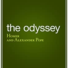 The Odyssey Audiobook by Alexander Pope (translator),  Homer Narrated by Bernard Clark