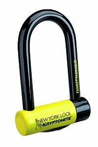 Kryptonite 997986 Black 18mm New York Fahgettaboudit U-Lock by Kryptonite