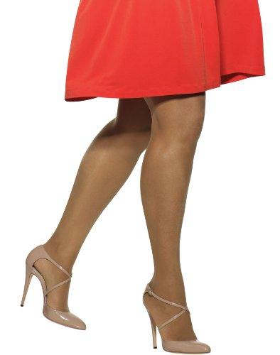 Hanes Hanes Plus Silk Reflections Sheer Non-Control Enhanced Toe Pantyhose, P/Plus, Little Color