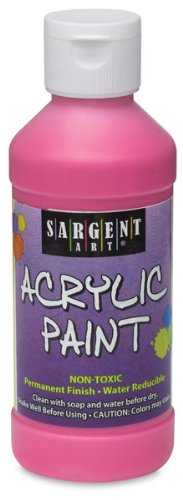 Sargent Art 22-2785 64-Ounce Acrylic Paint, Black