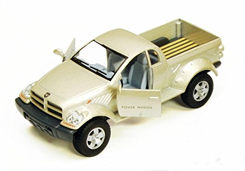 Champagne Dodge Power Wagon 5-inch Pickup Truck, - Pullback Motorized - 1/42 scale (Champagne) (Dodge Ram Power Wagon compare prices)