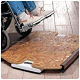 Extra-Wide Wheelchair Scale Easy-Read Dial Extra Wide Wheelchair Scale Unit - Model 651402