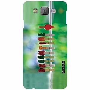 Printland Back Cover For Samsung Galaxy E7 - Dream It Designer Cases