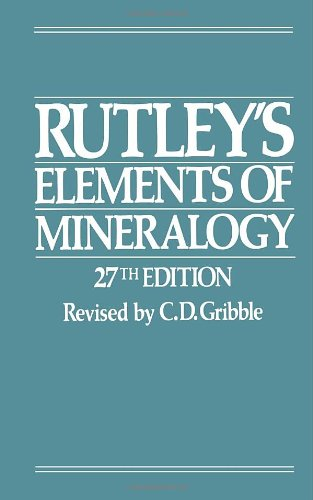Rutley's Elements of Mineralogy (Semiconductors; 1)