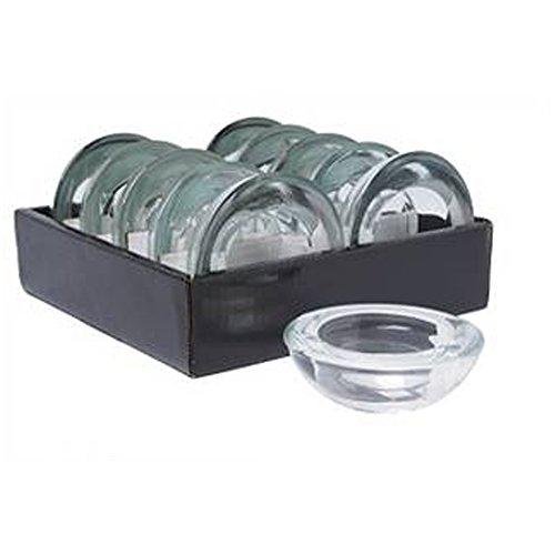 Hosley s Set of 10 Value Pack Glass Tea Light Holders - 3