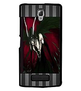 PrintDhaba Black Angel D-4609 Back Case Cover for LENOVO A2010 (Multi-Coloured)