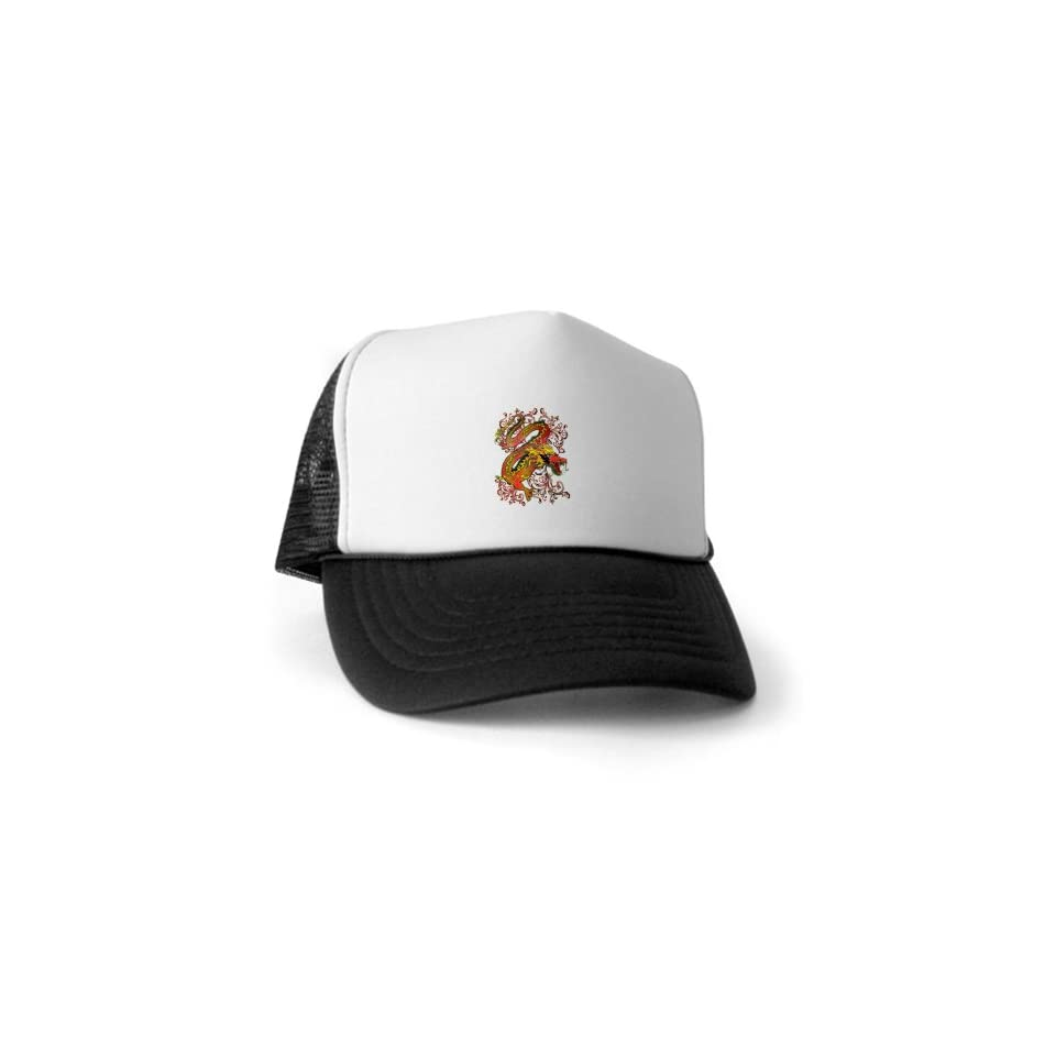 Artsmith, Inc. Trucker Hat (Baseball Cap) Fire Dragon