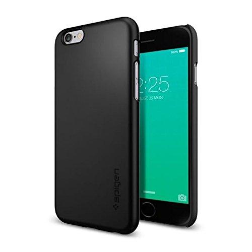 Spigen iPhone6s ケース, シン・フィット [ パーフェクト フィット ] アイフォン6s / 6 用 カバー (ブラック SGP11592)