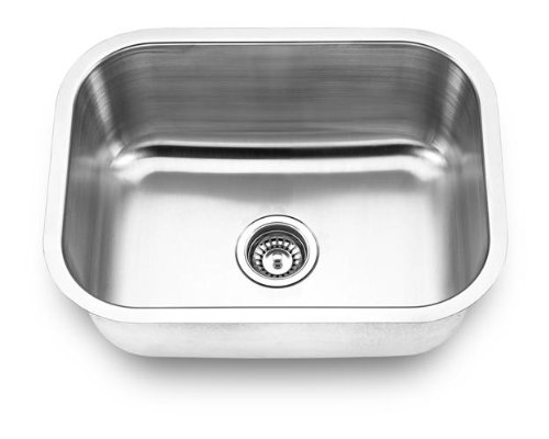 Yosemite Home Decor MAG2318 18-Gauge Stainless Steel Undermount Kitchen Sink