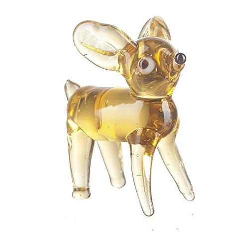 Miniature Glass Deer by Ganz - 1