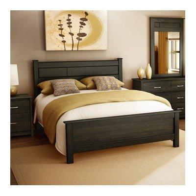 Modern dark mahogany semi gloss finish bedroom storage - Mahogany bedroom furniture contemporary ...
