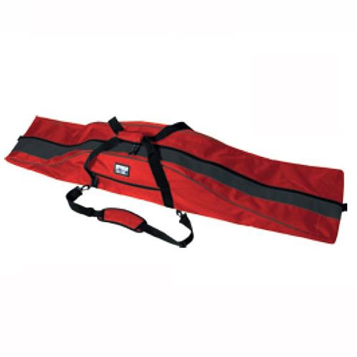 PULSE Snowboardtasche red/graphite für Boards bis 175 cm Original PAUL KURZ