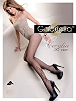 Gabriella Sexy Femme Collants à Motif GB 280 20 DEN