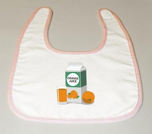Baby Bib with Orange Juice image